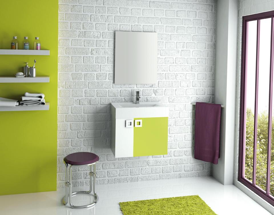 Baño Verde Pistacho Blanco ~ Dikidu.com